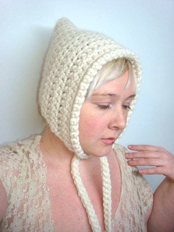Crochet Pixie Hat Pattern PDF Elf Hood | Etsy