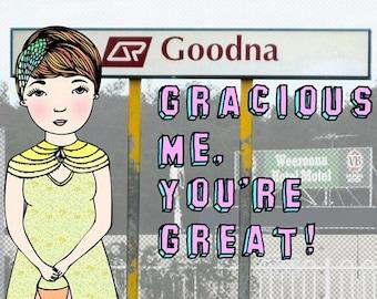Brisbane Card - Goodna