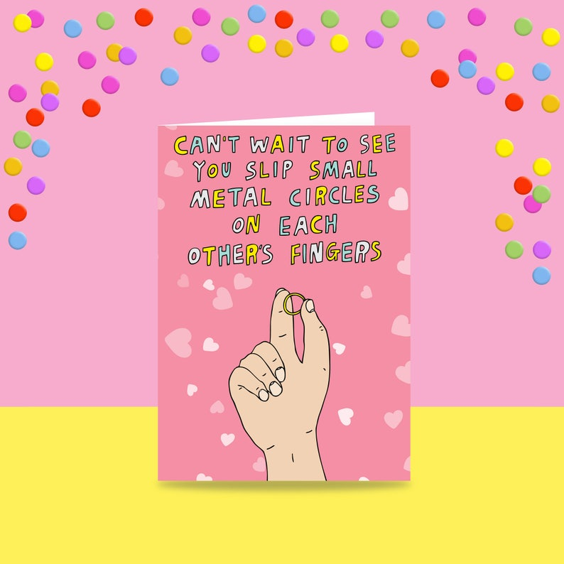 Greeting Card  Can't Wait To See You Slip Small Metal image 0