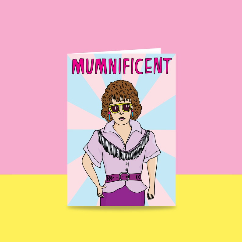 Mothers Day Card  Mumnificent image 0
