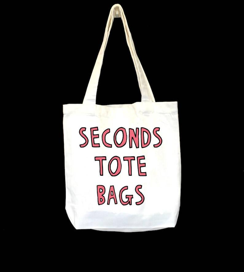 Seconds Tote Bag Choose Your Design