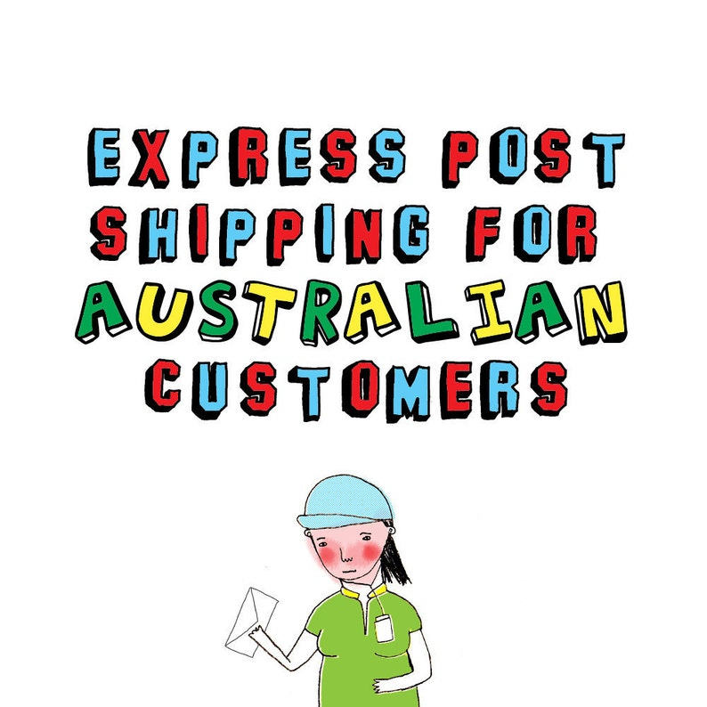 Express Shipping For Australian Customers image 0