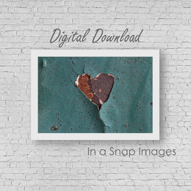 This Old Heart  Rustic Style Rustic Photography Wabi Sabi image 0
