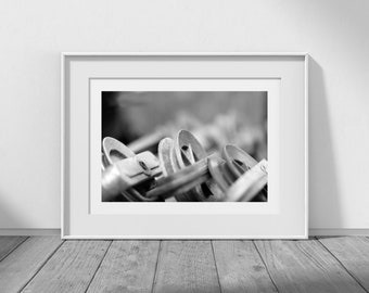 Spacing Out - Laundry Room Decor, Laundry Art, Laundry Photo, Clothesline Photo, Cottage Decor, Laundry Printable, Digital Download Photo