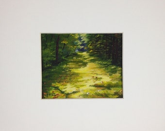 The Trail Behind the Cabins - Print