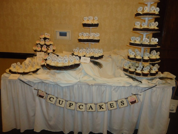 Wedding Banner Cake Table Banner Wedding Cake Banner Wedding Etsy