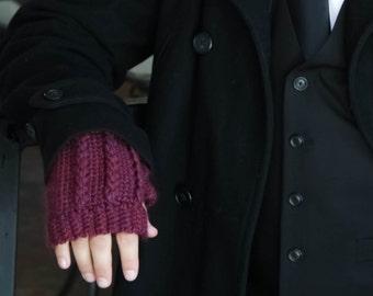Men's Texting Gloves/ Hipster Fingerless Gloves for Men