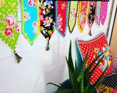 Crochet and fabric fusion...