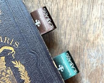 Custom Fabric labels Color Satin Clothing Labels, Logo labels PRECUT