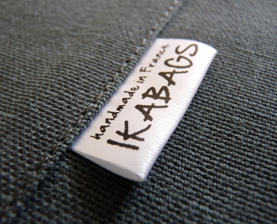 ship from the U.S.A 300pcs Custom Boutique Woven Clothing Labels