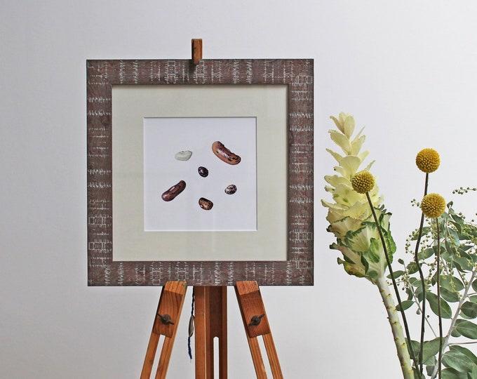Featured listing image: Mixed Beans Botanical Illustration Print