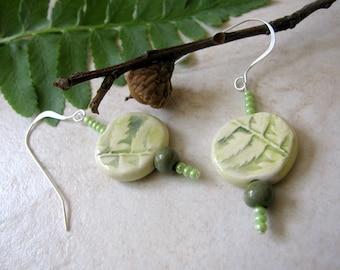 Leafy Fern Earrings