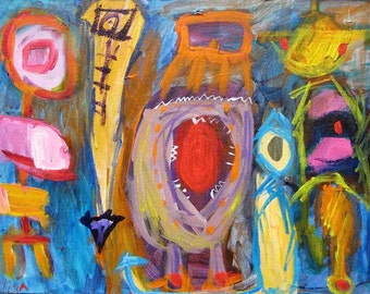 Tramps Yale Men Outsider Art Brut RAW Visionary Naive Primitive Elisa