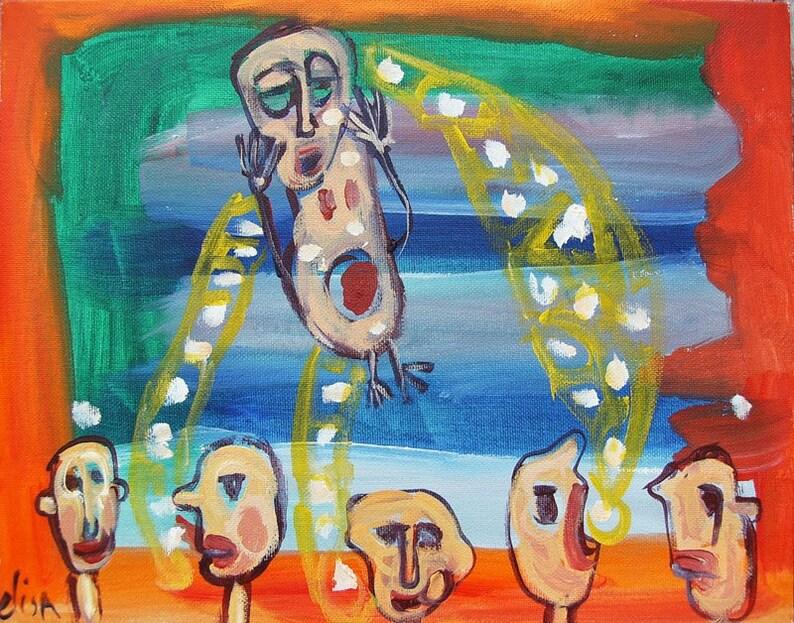Spitballs Art Brut RAW Visionary Outsider Naive Elisa image 0