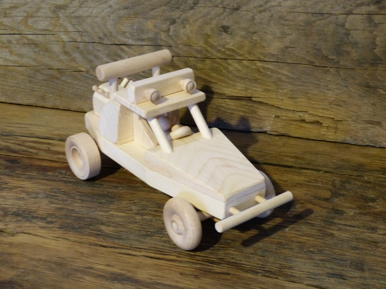 Handmade Wooden Toys Dune Buggy ATV Off Road Truck Car Wood Toy Kids Childs  Boys Birthday Gift Present