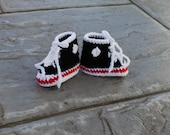 Baby High Tops in Black, Red, and White for Newborn, free shipping