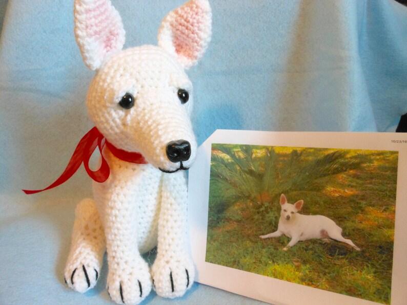 Custom Crochet Dog Made to Look Like Owner's Dog, Canine, Stuffed Dog,  Stuffed Animal, Pet Memorial, Pet Remembrance, Look Alike Dog
