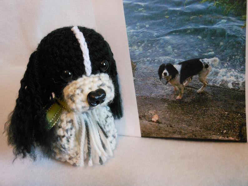 Custom Crochet Dog, Made to Look Like Owner's, Spaniel, Stuffed Dog, Custom  Dog, Pet Memorial, Pet Remembrance, Dog Memorial, Look Alike