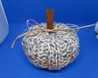 Knitted Pumpkin, Hand Knitted, Fall Decor, Autumn Decor, Pumpkin, Fall Decoration, Autumn Decoration, Stuffed Pumpkin,Home Decor