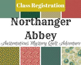 Northanger Abbey Mystery - Class Registration (EU Customers)