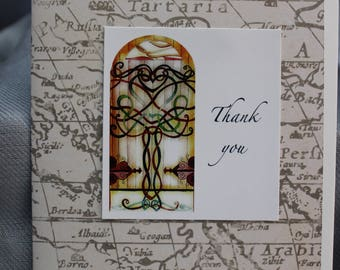 """Thank you - Set of 4 (4x5.5"""")"""