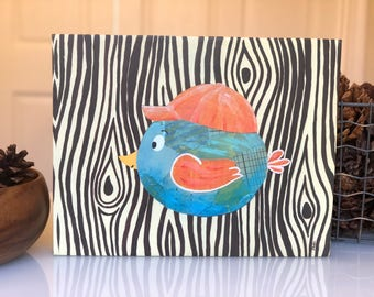 Brother Bird - canvas reproduction
