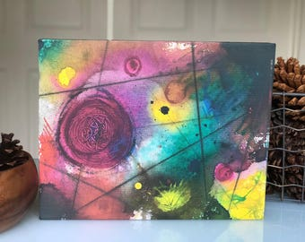 The Beginning - canvas reproduction