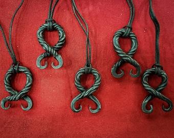 Troll Cross Pendant - Blacksmith - Nordic