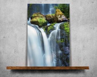 Waterfall — Fine Art Print, Canvas/Metal/Acrylic/Framed
