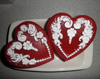 Heart Soaps in any color