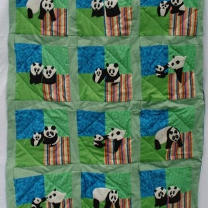 Birds in Flight Wheelchair Lap Quilt with Pocket Hand Appliqued Hand Quilted