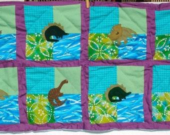 Dinosaur Mini-Quilt for Toddler