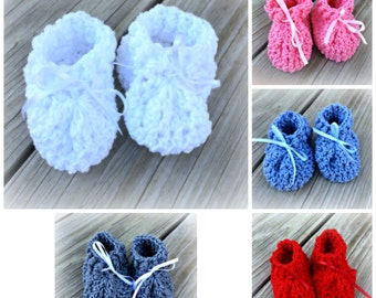 e29f1b5dae5d0 Cotton baby booties | Etsy
