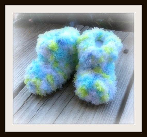 Crochet chaussons/chaussons/nouveau-né chaussons bébé chaussons /Crochet/ chaussons/chaussures/souliers (prêt à l'expédition)