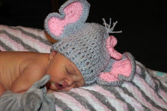 Crochet children's Elephant hat- I'm Topsy Turvy | 380x570