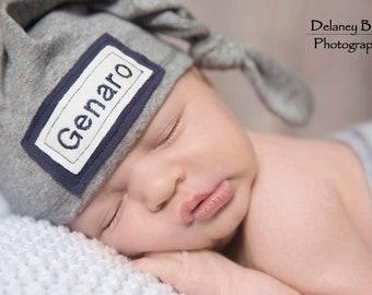 5b4ba26c2cf Newborn knot beanie