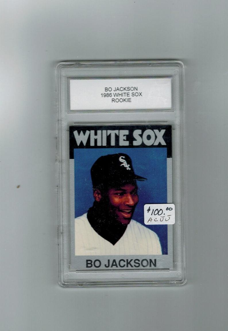 1986 Bo Jackson White Sox Rookie Baseball Card