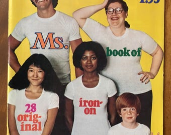 1976 Ms. Magazine Iron-on Transfers - Select A Design Group B