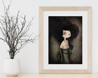Lily - Deluxe Edition Print - Whimsical Art