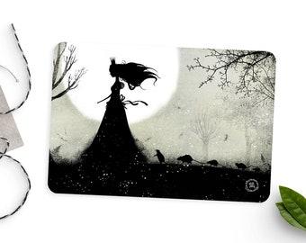 Follow Me - Illustrated Postcard