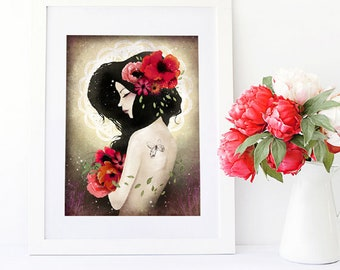 Talisman - Deluxe Edition Print - Whimsical Art
