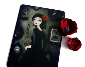 The Art Collector - Illustrated Postcard