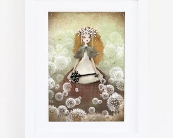 Mori - Deluxe Edition Print - Whimsical Art