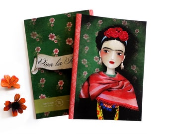 Frida - A5 Handmade Notebook