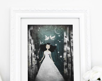 Purity - Deluxe Edition Print - Whimsical Art