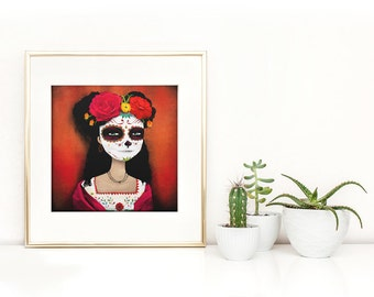 Catrina  - Deluxe Edition Print - Whimsical Art