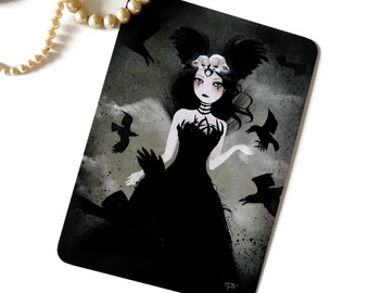 The Crow Queen - Postcard