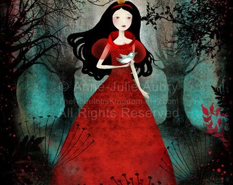 Enchanted Forest - Deluxe Edition Print - Whimsical Art