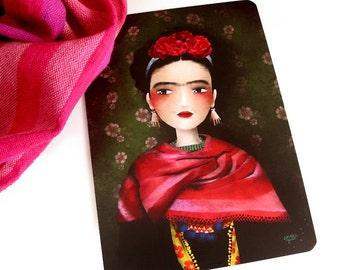 Frida - Illustrated Postcard