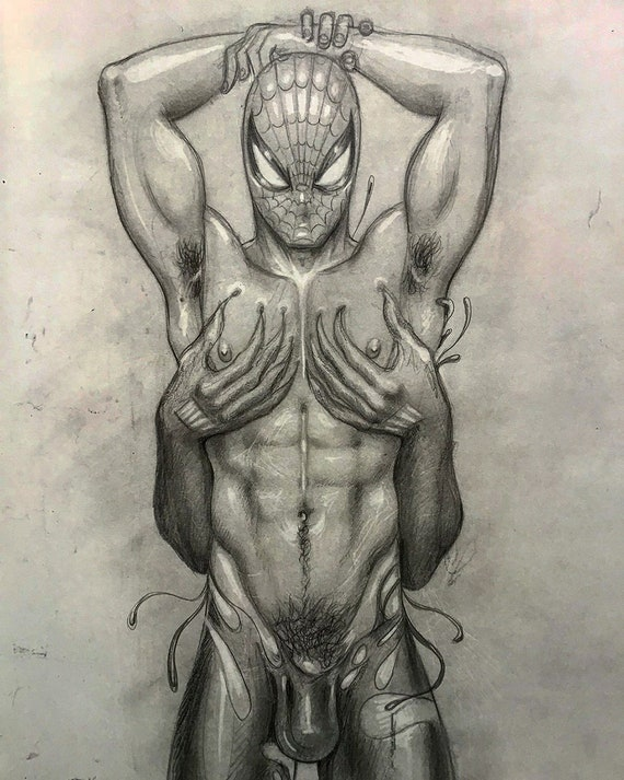 spiderman sex gay